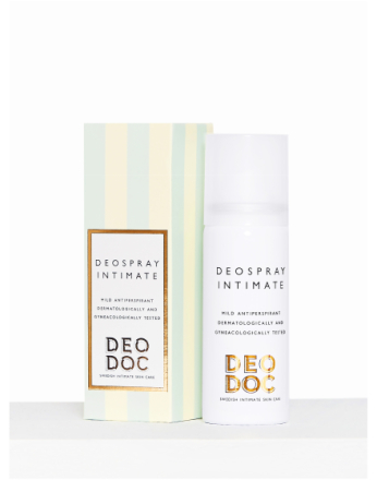 Intimpleie - Transparent DeoDoc Stockholm Summer Deospray Intim 50 ml