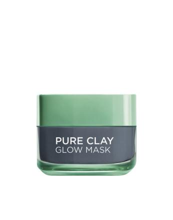 L'Oréal Paris Pure Clay GLOW Mask Grå