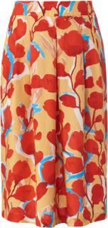 Kjol aktuell midilängd från PETER HAHN PURE EDITION röd