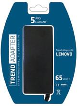 LENOVO oplader fra Trend Adapter. 65W - 20V/3.25A (7.9x5.5).