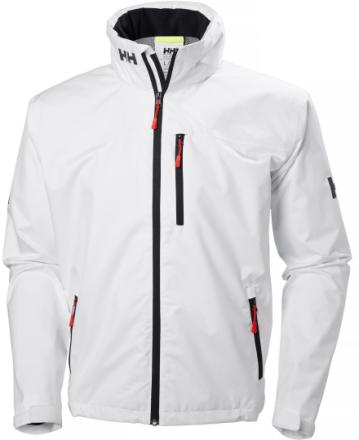 Crew Hooded Jacket Valkoinen S