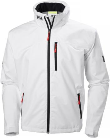 Crew Hooded Jacket Valkoinen M
