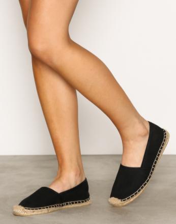NLY Shoes Espadrilles Svart
