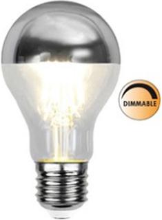 Globen Lighting Lyspære LED 352-94 Toppforspeilet Silver Dimbar E27