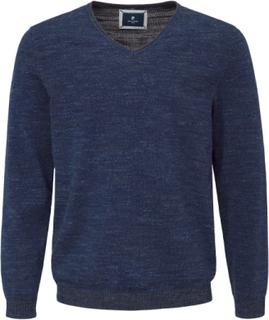 V-ringad tröja från Pierre Cardin blå