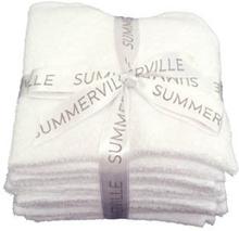 Summerville Tvättlappar eko vit 5p