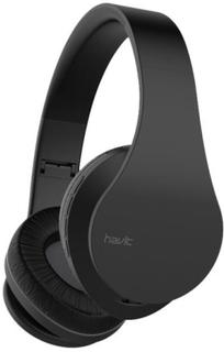 Havit I66 Multifunktionelle trådløse, foldbare headphones. Sort.