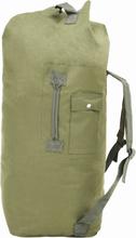 vidaXL 3-i-1 Militärinspirerad duffelväska 120 L olivgrön