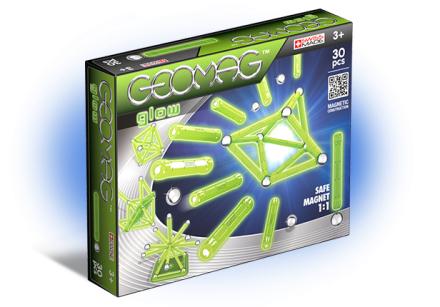 Geomag - Glow Panels - 30 Pcs