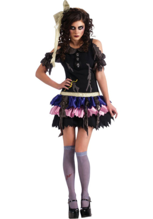 Rubies Adult - Zombie Doll Costume (880754)
