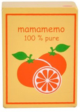Apelsinjuice i trä