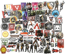 68PCS APEX Legends Game Cartoon Stickers Doll Girl Sticker for Children Travel Case Bicycle Laptop Notebook Kid Anime Stickers