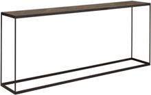 PARQUETTE Console table - Oak carbon parquette pattern