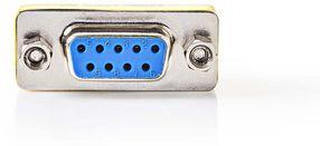 Nedis Serial adapter | Adapter | D-SUB 9-Pin Hona | D-SUB 9-Pin Hona | Nickel | Metall | Plastpåse