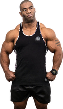Gorilla Wear Men Sacramento Camo Mesh Tank Top, black/white, small Linne herr