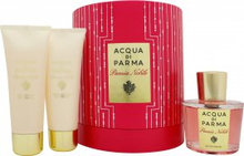 Acqua di Parma Peonia Nobile Presentset 100ml EDP + 75g Body Cream + 75ml Duschgel