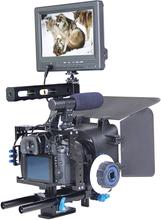 YELANGU Kamerarigg för Lumix DMC-GH4, G7 / Sony A7, A7S, A7R, A7RII & A7SII