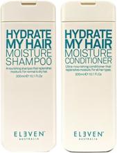 Eleven Australia Hydrate My Hair Moisture Shampoo 300ml + Conditioner 300ml