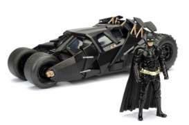 Batman The Dark Knight Modellbil - 1/24 2008 Batmobil med figur
