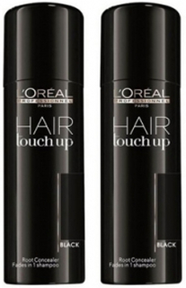 Loreal Hair Touch Up Black Duo 2x75ml