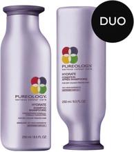 Pureology Hydrate Duo Shampoo + Balsam