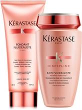 Kérastase Discipline Duo Fluidealiste Shampoo + Conditioner
