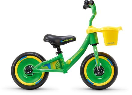 """s'cool pedeX 3in1 Løbecykel Børn 10"""" gul/grøn 2019 Løbecykler"""
