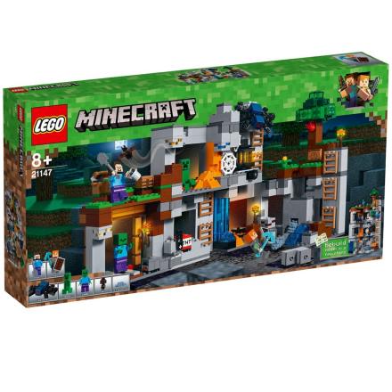 LEGO Minecraft, 21147 LEGO® MinecraftT Klippeeventyret - CDON.COM