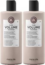 Maria Nila Pure Volume Duo Shampoo 350ml + Shampoo 350ml