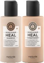 Maria Nila Head & Hair Heal Travelkit Shampoo + Conditioner 2x100ml
