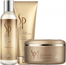 Wella SP Luxe Oil Keratin Protect Trio Shampoo & Conditioner & Mask