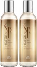 Wella SP Luxe Oil Keratin Protect Shampoo Duo 2x200ml