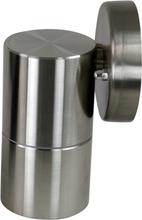 Väggspotlight 11cm - Rostfritt stål