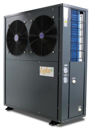 Luft-vatten värmepump 12,3kW EVI