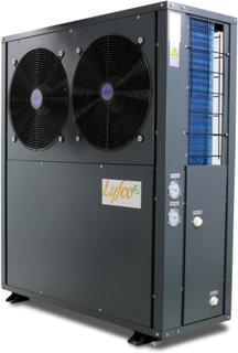 Luft-vatten värmepump 12,3kW EVI - Monoblock