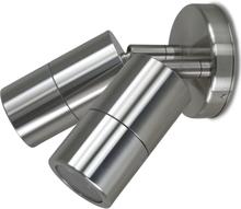 Väggspotlight 2 armaturer - Titanium