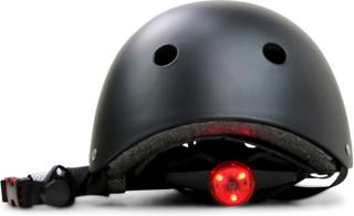 BMX/Skatehjälm - LED-lyse