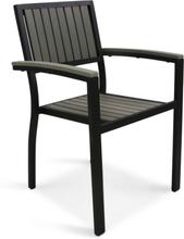 Trädgårdsstol i aluminium och komposit - Waxholm