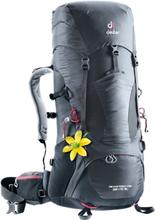 Deuter W's Aircontact Lite 35+10 SL Backpack graphite-black 2019 Vandringsryggsäckar