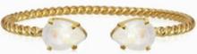Caroline Svedbom Mini drop bracelet Hvit