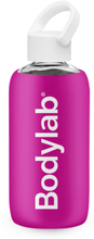 Bodylab Glass Bottle (420 ml) - Pink