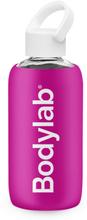 Bodylab Glass Bottle (420 ml) - Pink