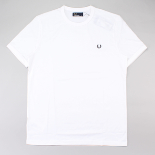 Fred Perry T-Shirt Ringer White