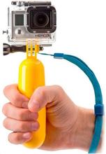 Flydende selfiestang til sportskamera KSIX Gul