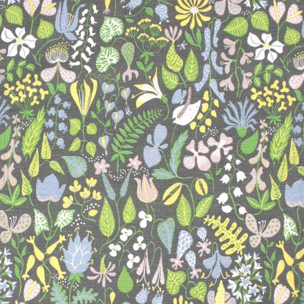 Herbarium stoff grå