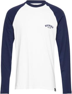 Dickies Baseball T-Langærmet Skjorte Blå Dickies