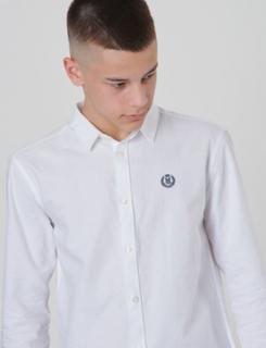 Henri Lloyd, SS Oxford Shirt, Hvid, Skjorter till Dreng, 14-15 år