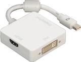 HAMA Mini-Displayport adapter HDMi-DVI-Displayport