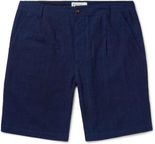 Universal Works - Slub Cotton Shorts - Blue - XXL,Universal Works - Slub Cotton Shorts - Blue - S,Universal Works - Slub Cotton Shorts - Blue - M,Universal Works - Slub Cotton Shorts - Blue - XL,Universal Works - Slub Cotton Shorts - Blue - L