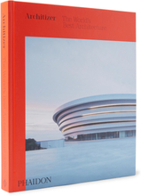 Architizer: The World's Best Architecture Hardcover Book - Red